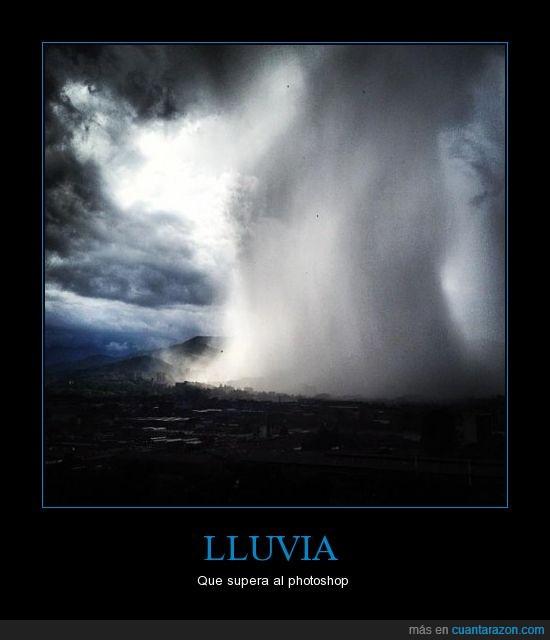 agua,colombia,lluvia,medellin,photoshop,realidad