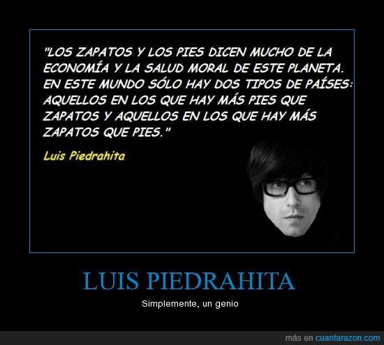 economia,Luis Piedrahita,pies,pobreza,zapatos