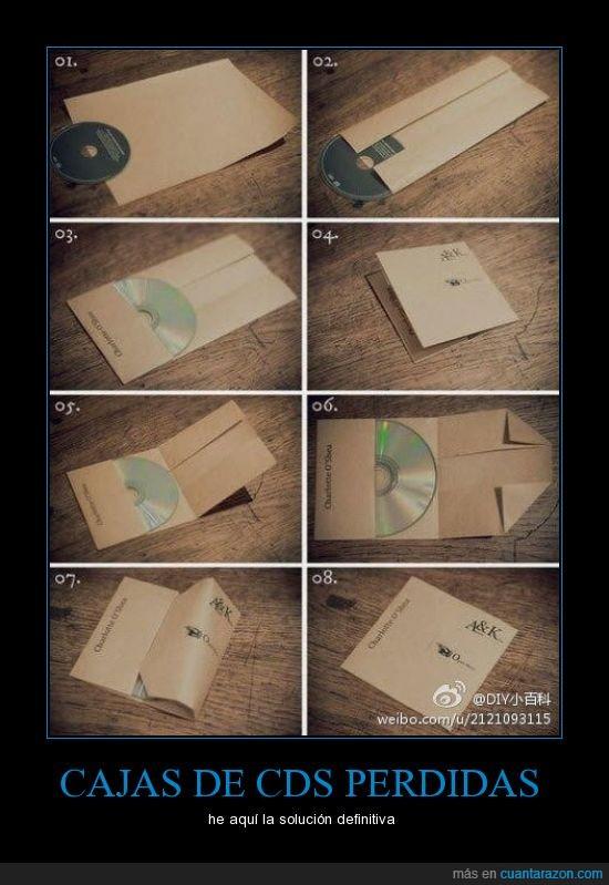 cajas,cds,perdidas,solucion definitiva