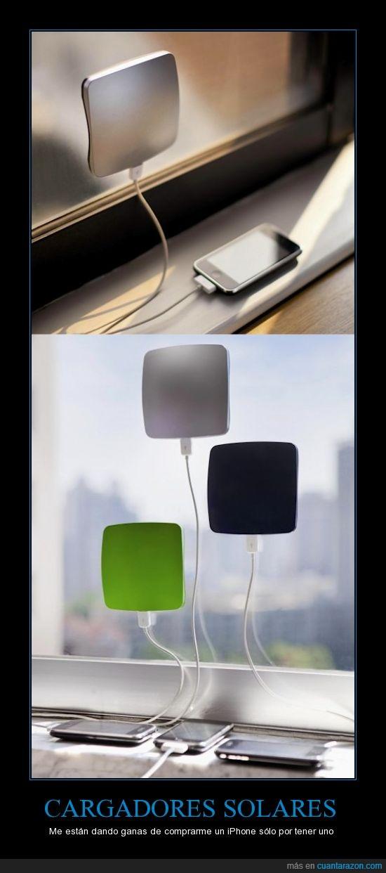 cargador,ciencia,iPhone,sol,solar,ventana