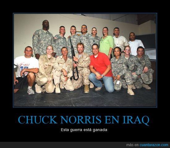 Chuck Norris,ganada,guerra,iraq,soldado