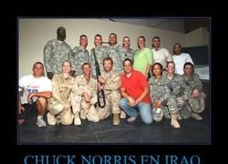 Enlace a CHUCK NORRIS EN IRAQ