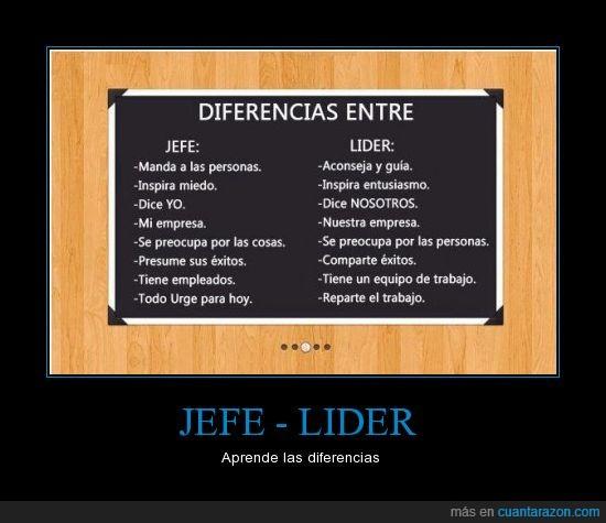 delegar,diferencias,equipo,éxito,Jefe,líder,trabajo,yo