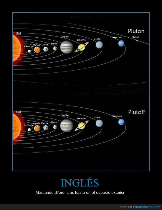 espacio,exterior,inglés,planeta,pluton,sistema solar