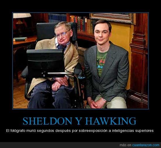 bazinga,épico,Hawking,jim parsons,juntos,Sheldon