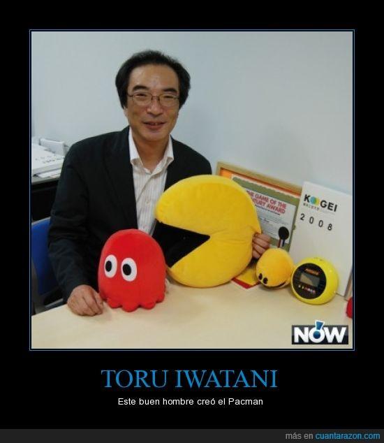 inventar,iwatani,Pacman,Toru