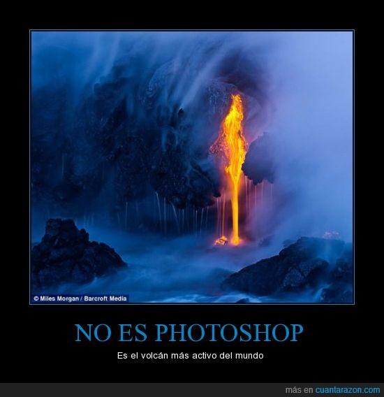 activo,photoshop,volcan