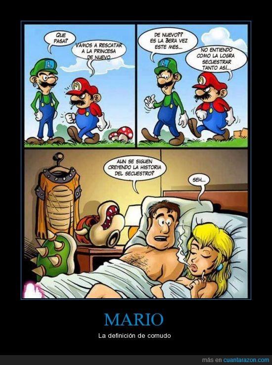 amante,Bowser,Luigi,Mario,mentira,Peach,secuestrar
