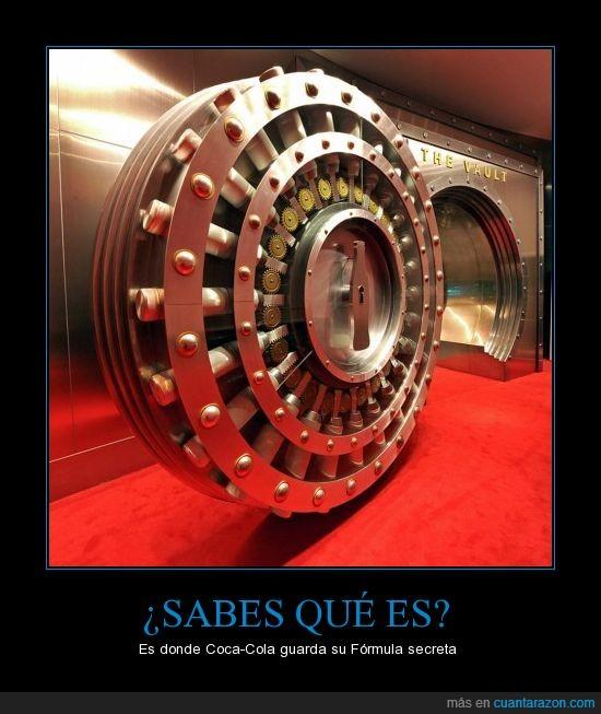 Coca-Cola,Formula Secreta,Gaseosa,Pepsi,The Vault