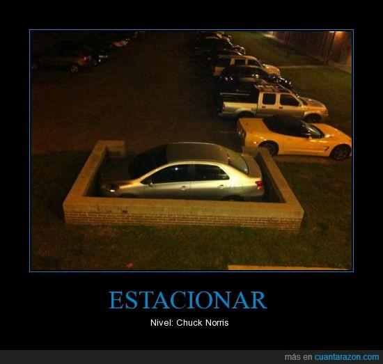 aparcar,Chuck,coche,estacionar