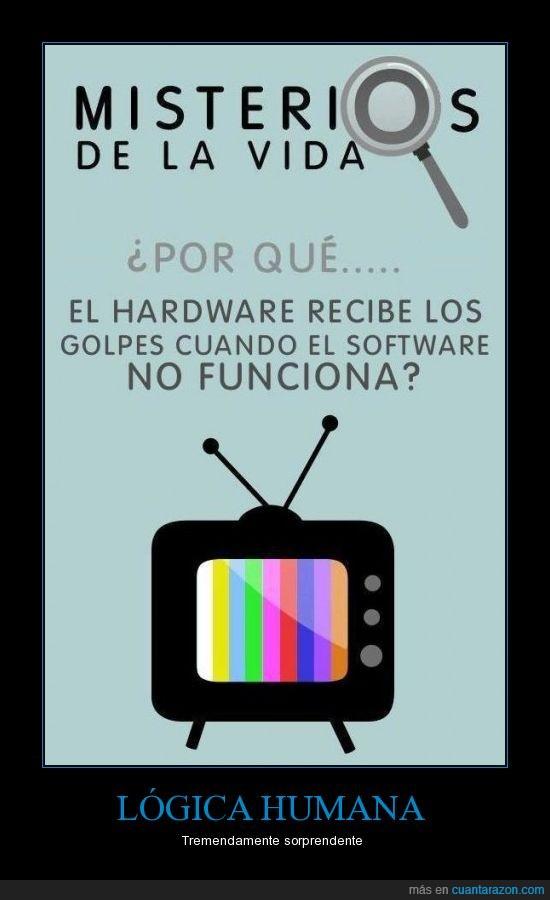 funcionar,golpes,hardware,preguntas,software,televisión