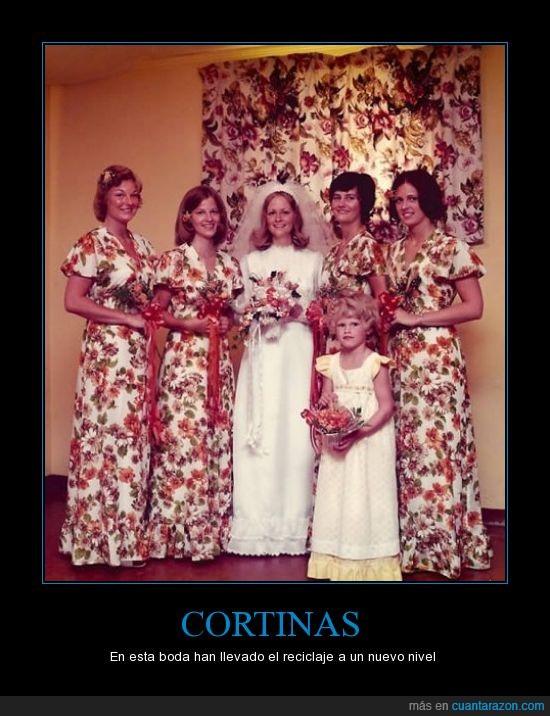 boda,cortinas,estampado,vestidos