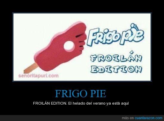 edition,Frigo,froilán,helado,pie,pistola,verano