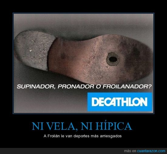decathlon,disparo,froilan,froilanador,pie,pronador,supinador
