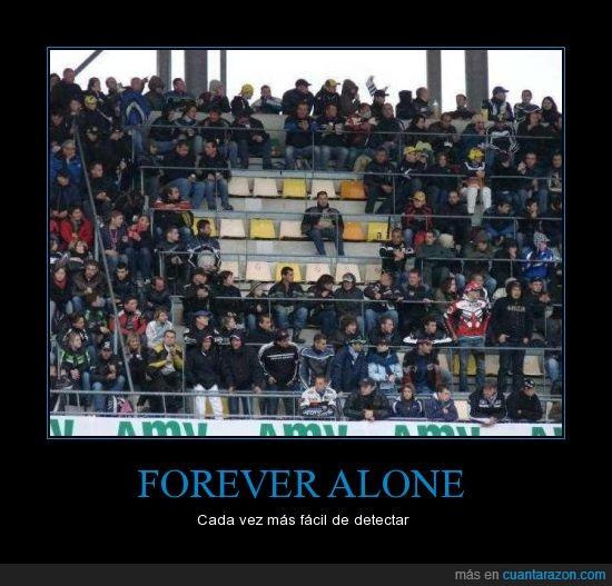 animalico,estadio,forever alone,futbol,silla,solo