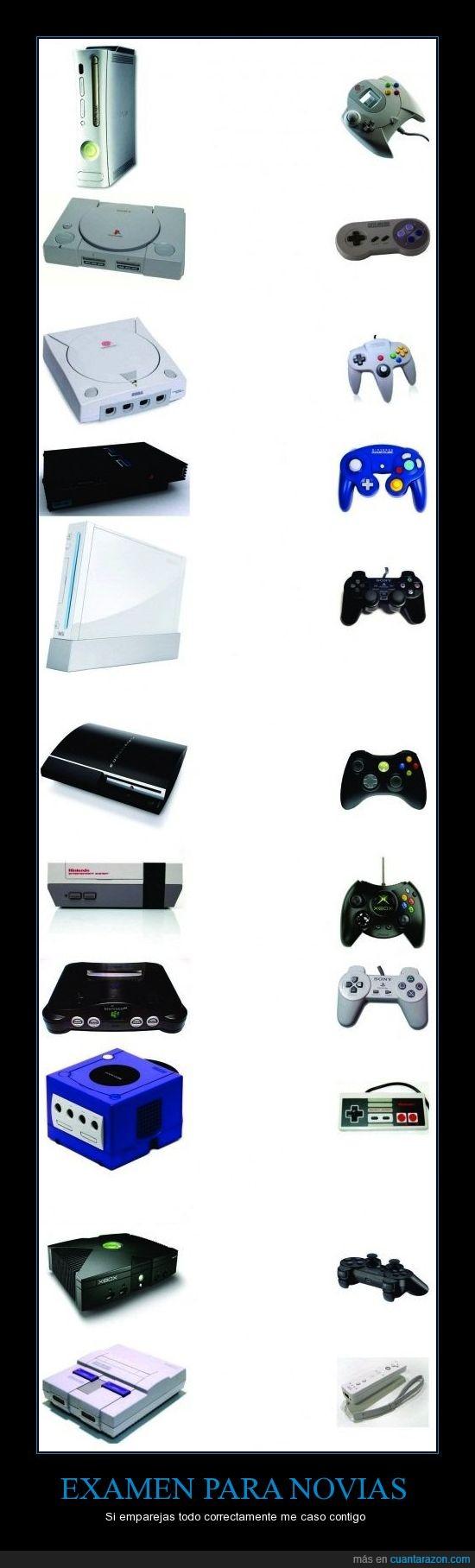 consolas,mandos,nintendo,novias,play,test,xbox