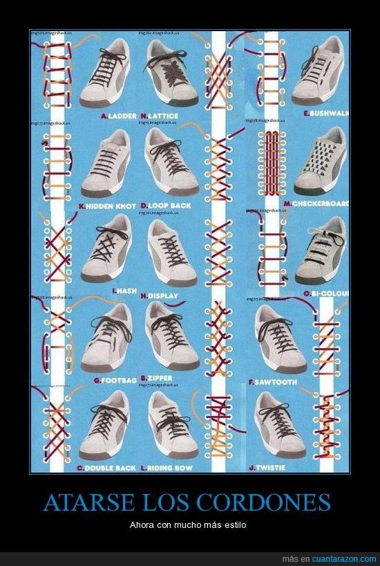 cordones,estilo,zapatos