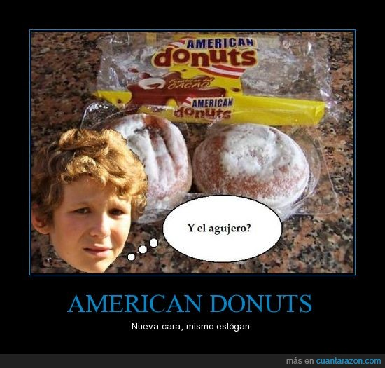 agujero,american donuts,froilán