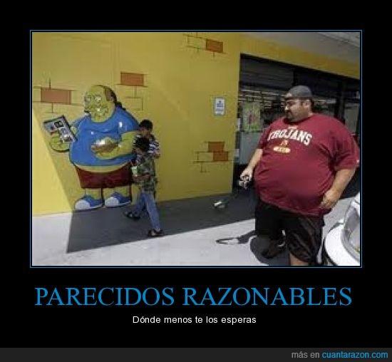 comics,fail,foto,gordo,niños,obeso,simpsons,vendedor