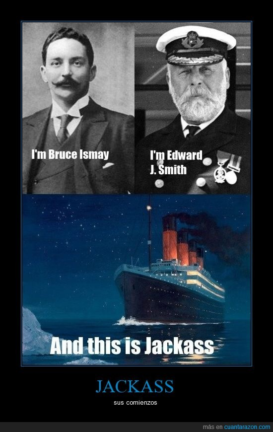 capitán,hundir,iceberg,jackass,titanic