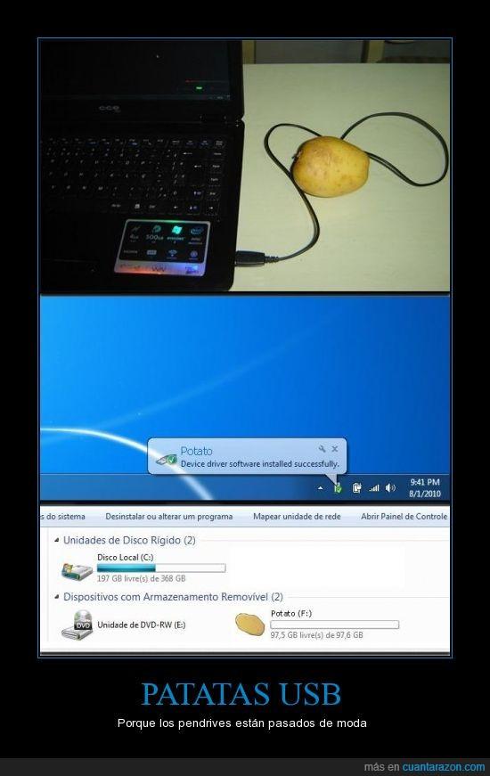 patata,pendrive,usb