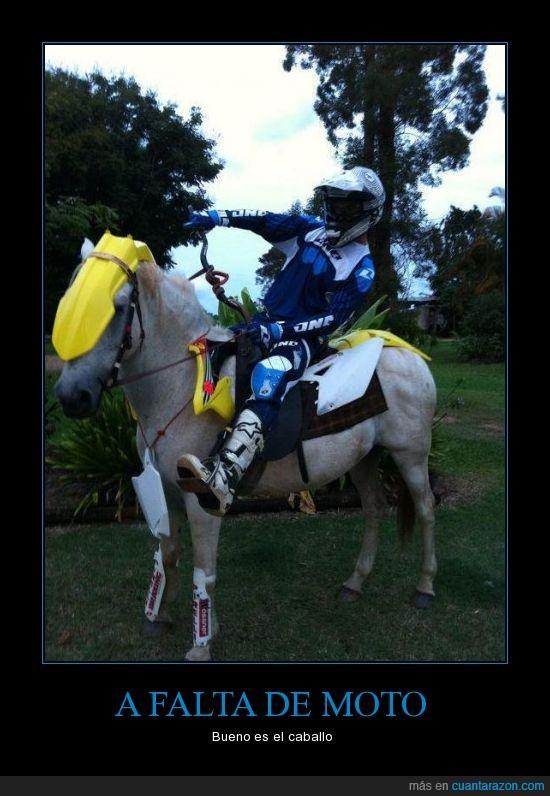 caballo,moto,motocross,solución rural,yegua