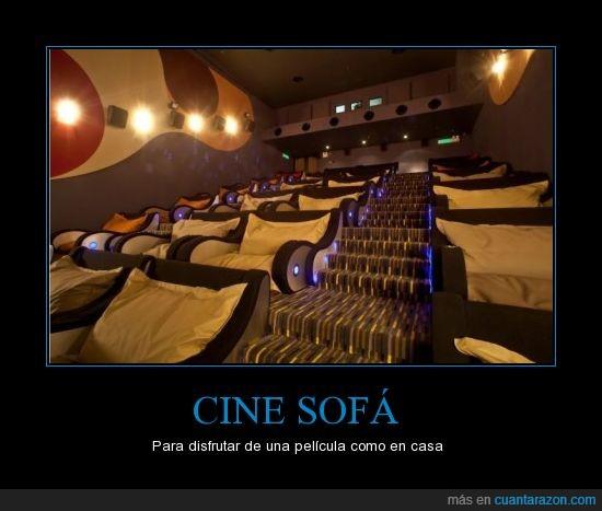 cine,comodo,películas,sala,sofá