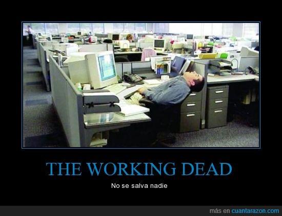 dead,oficina,working,zombie