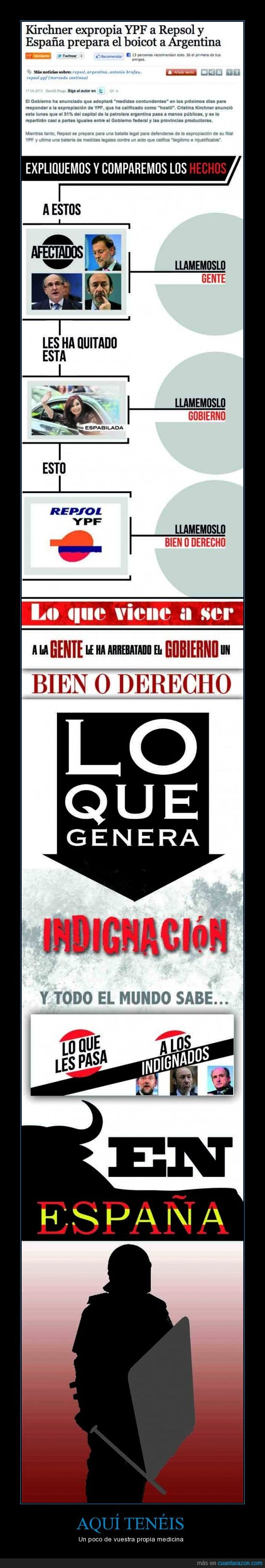antidisturbios,argentina,democracia,españa,indignados,kirchner,mossos,politica,rajoy,repsol,ypf