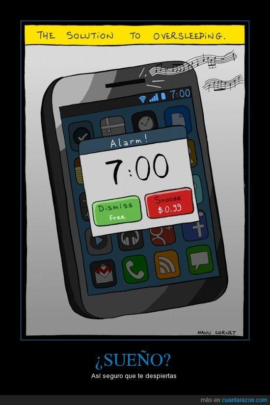 despertador,gadge,hora,inventos,pagar,phone,posponer