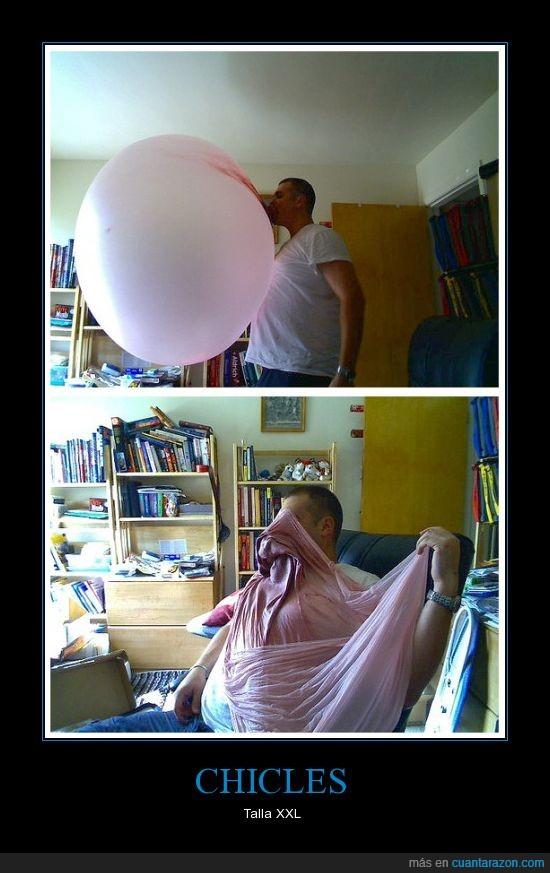 chicle,explotar,globo,pompa
