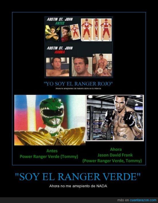 jason,power,ranger,rojo,verde