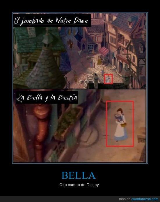 Bella,Bestia,cameo,canción,jorobado