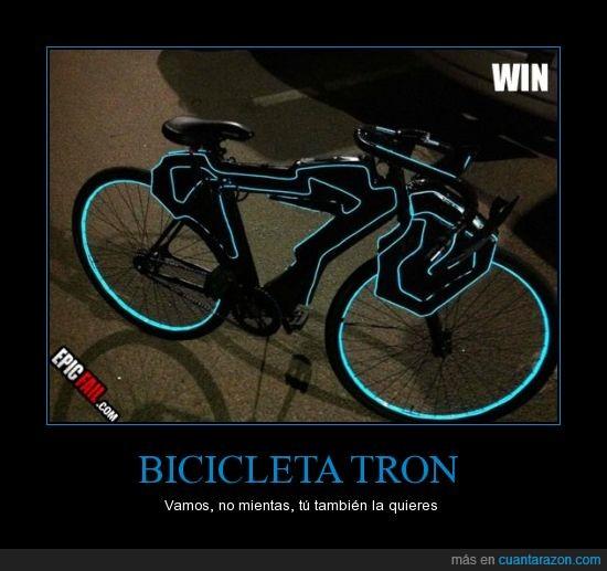 bicicleta,futuro,luz,neon,tron,un poco daft punk