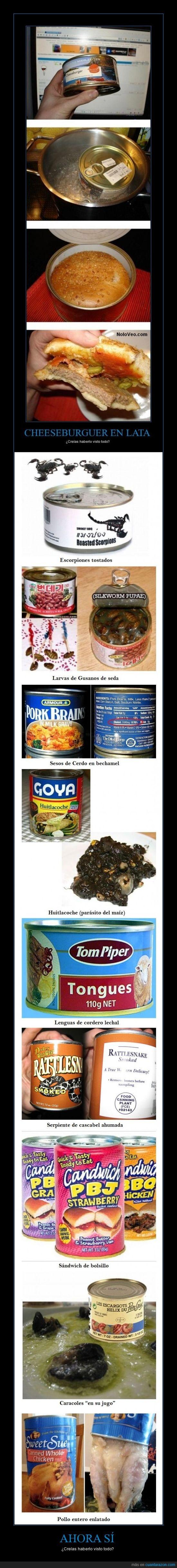 comida,enlatada,hamburguesa,pollo,rara,serpiente