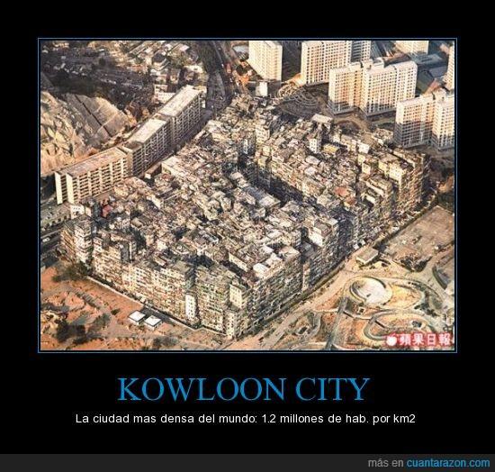 ciudad,densa,Hong Kong