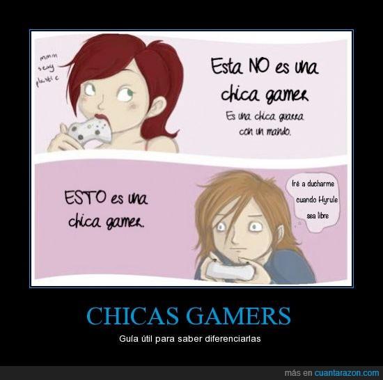 chicas,expectativas,gamer,juego,real