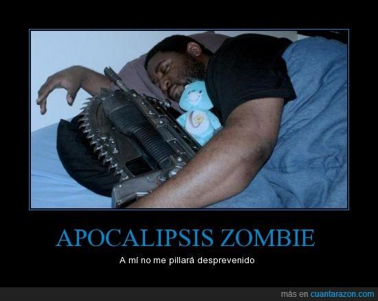 loco,motosierra,osito,zombie.metralleta