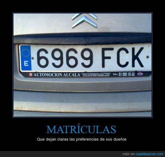 coche,Fck,matricula