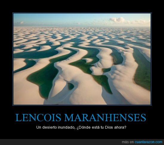 agua,arena,desierto,duna,inunda,lencois maranhenses