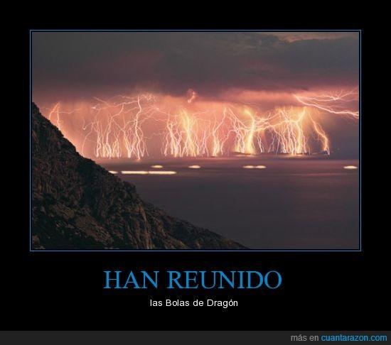 bolas,dragon ball,goku,krillin va a resucitar,Relámpago del Catatumbo,sheng long,Venezuela