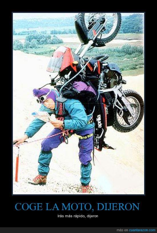 encima,escalador,lleva,moto,subir