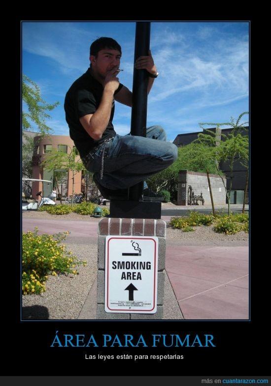 área,area para fumar,cigarro,estupido,fumar,literal,smoking