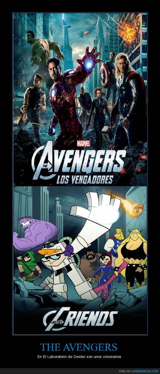 dexter,laboratorio,los vengadores,the avengers