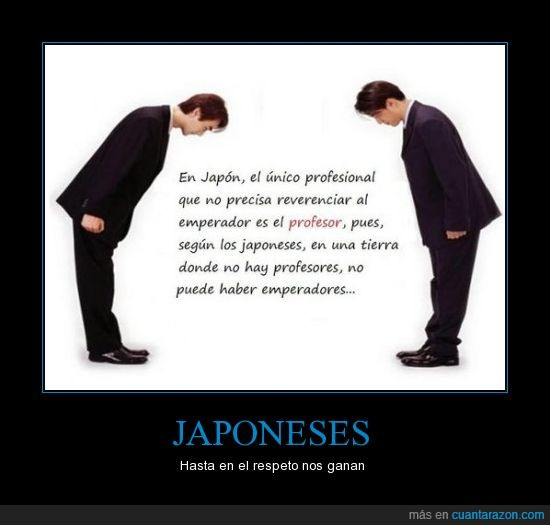 emperador,japoneses,principios,profesor,respeto,valores