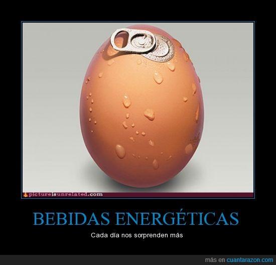 Bebida,energetica,huevo