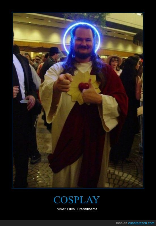cosplay,dios,jesus,mother of god