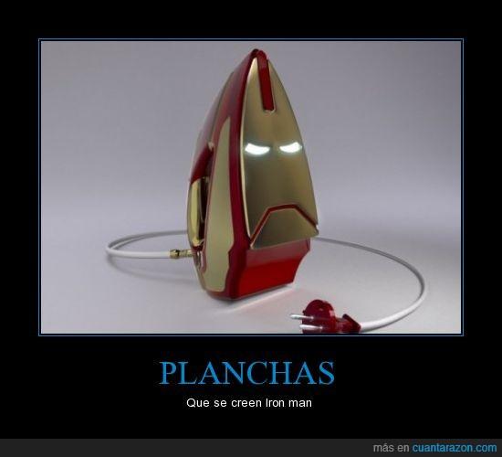 iron man,planchas