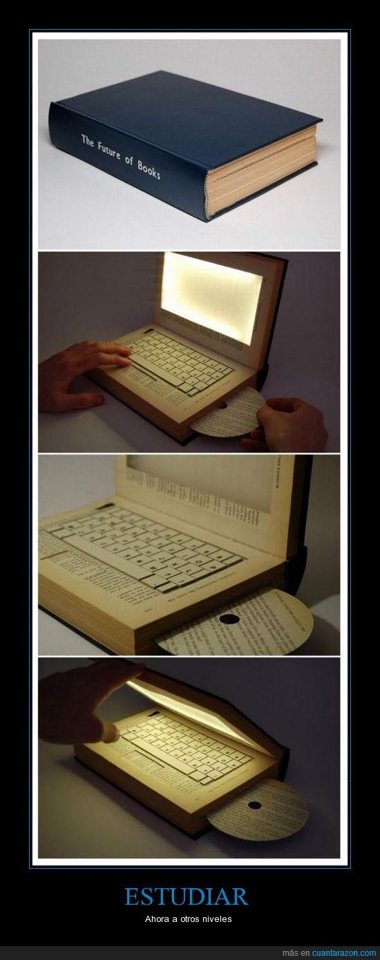 cd,esconder,libro,ordenador