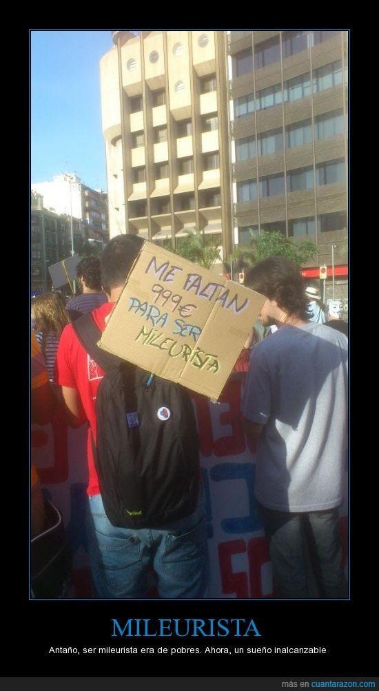 12m15m,15m,999,Alicante,cartel,manifestacion,mileurista